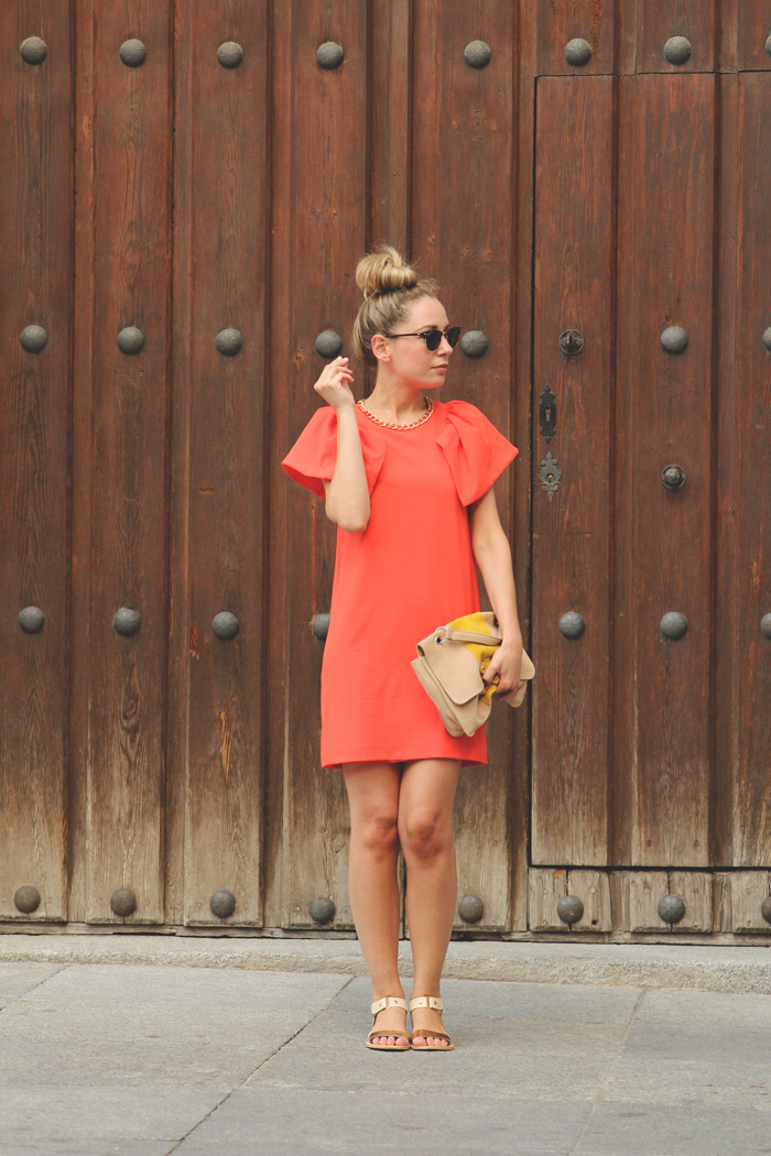 Orange dress | My Showroom