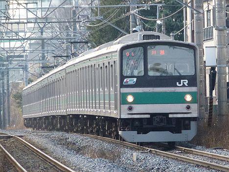 埼京線 各駅停車 川越行き1 205系