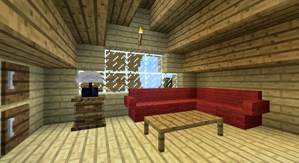 Minecraft tnt mods furniture mod 1 7 2 for Sala de estar no minecraft