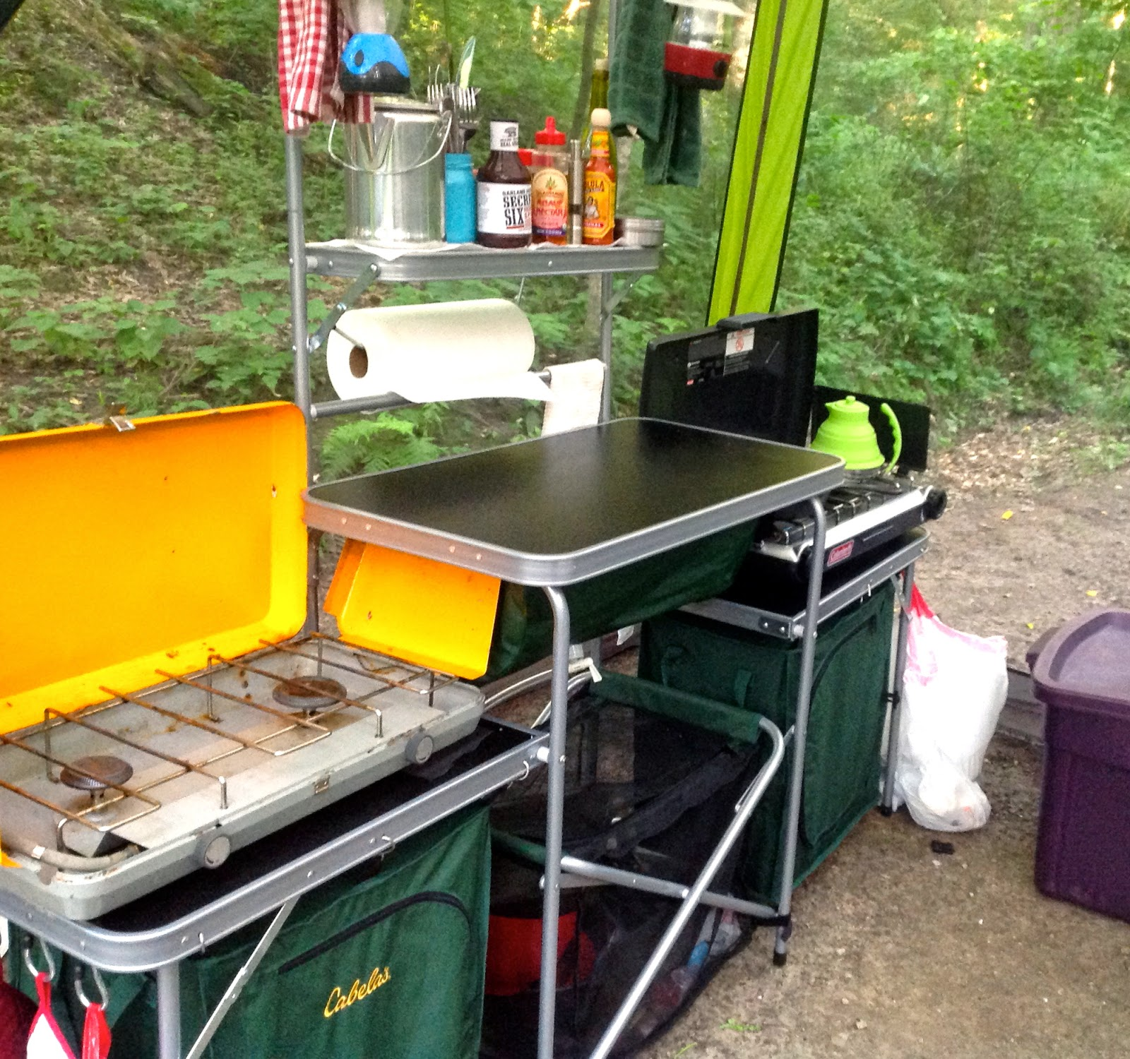 foodgasm: the blog: the kitchen sink: gourmet camping part 2