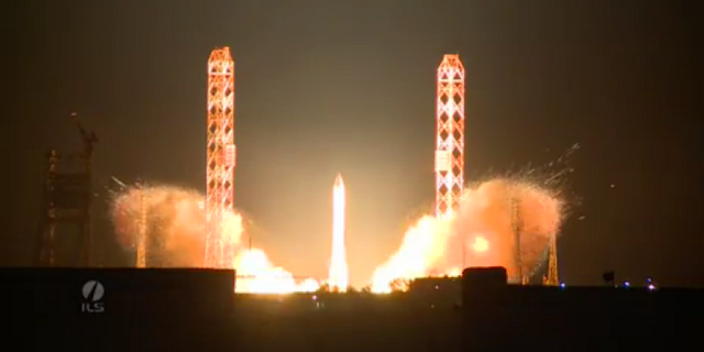 First Proton-M Rocket Launch After July Failure. Credit: ILS