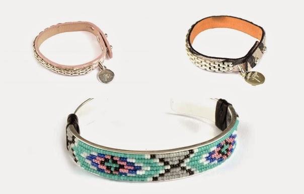 Armbandet Native och skinnarmband från Syster P