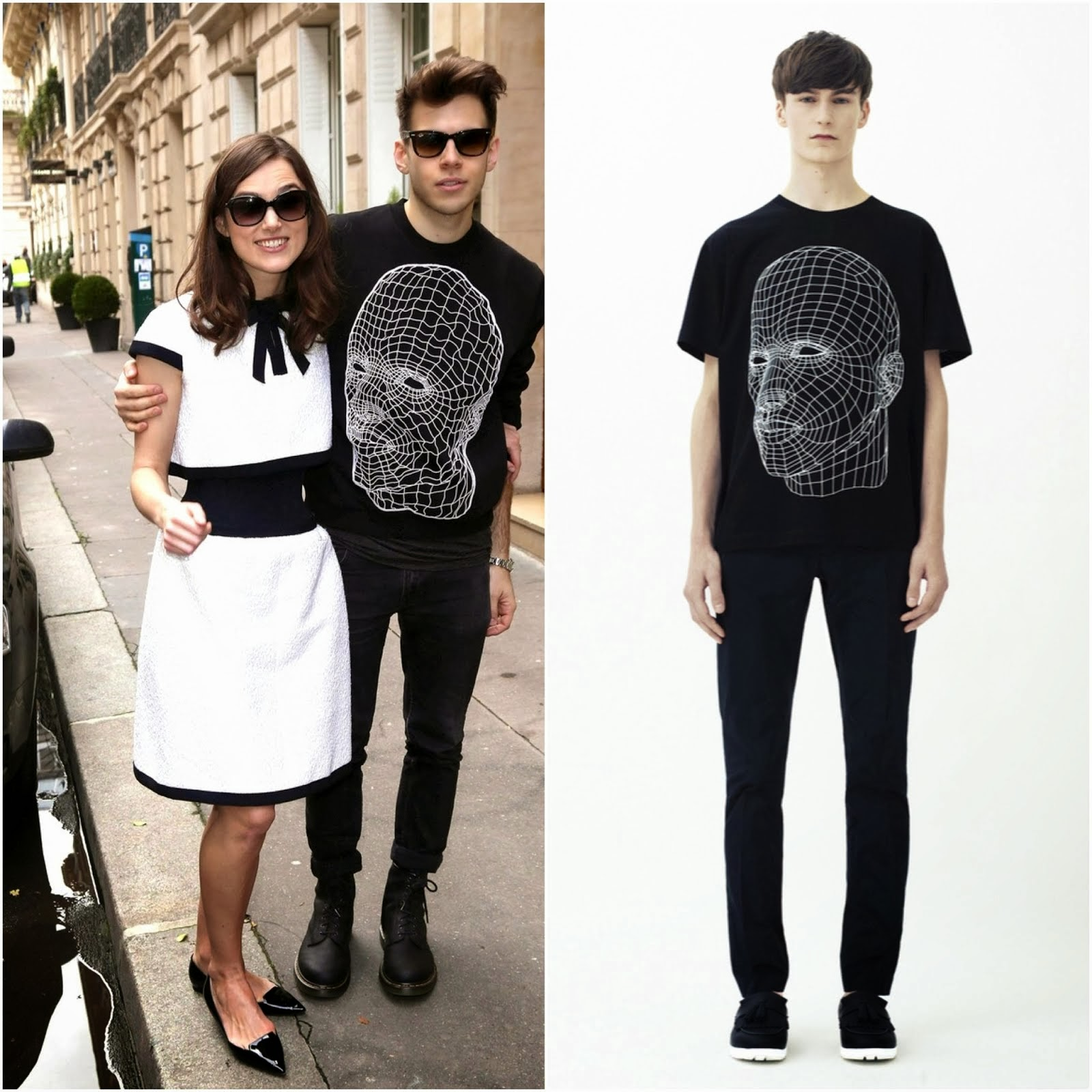 James Righton in Christopher Kane - Paris Fashion Week FW14