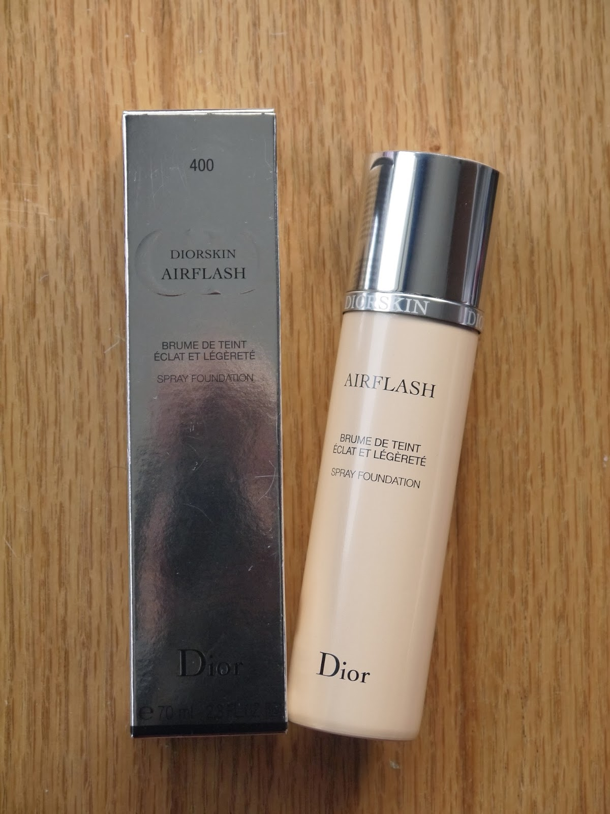 Diorskin Air Flash Foundation 404 in Honey Beige