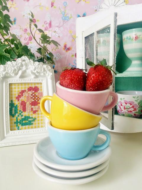 pastel mutfaklar