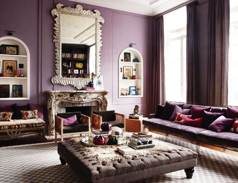 Casa Haus English: A Touch of Violet