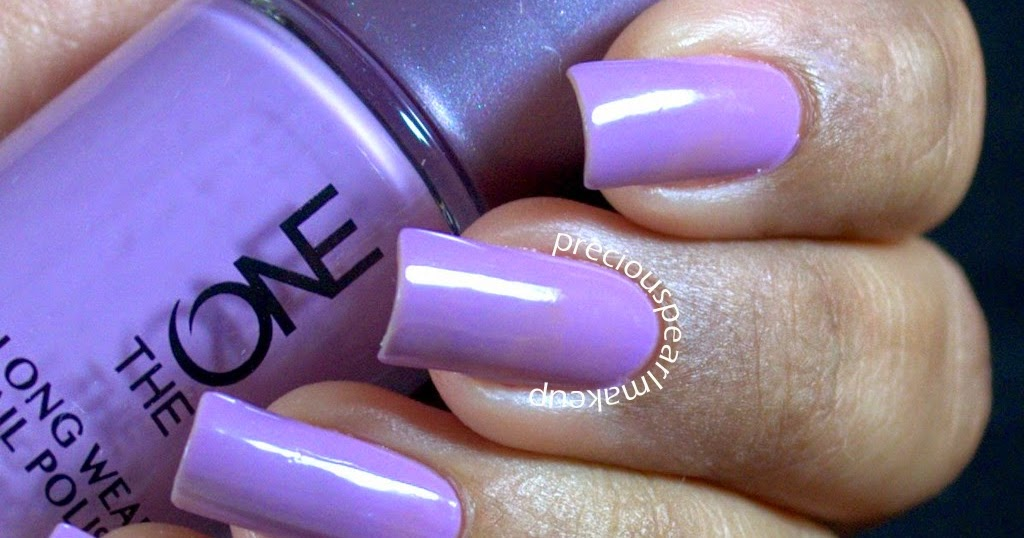 preciouspearlmakeup: Oriflame The One Long Wear Nail Polish in Lilac ...