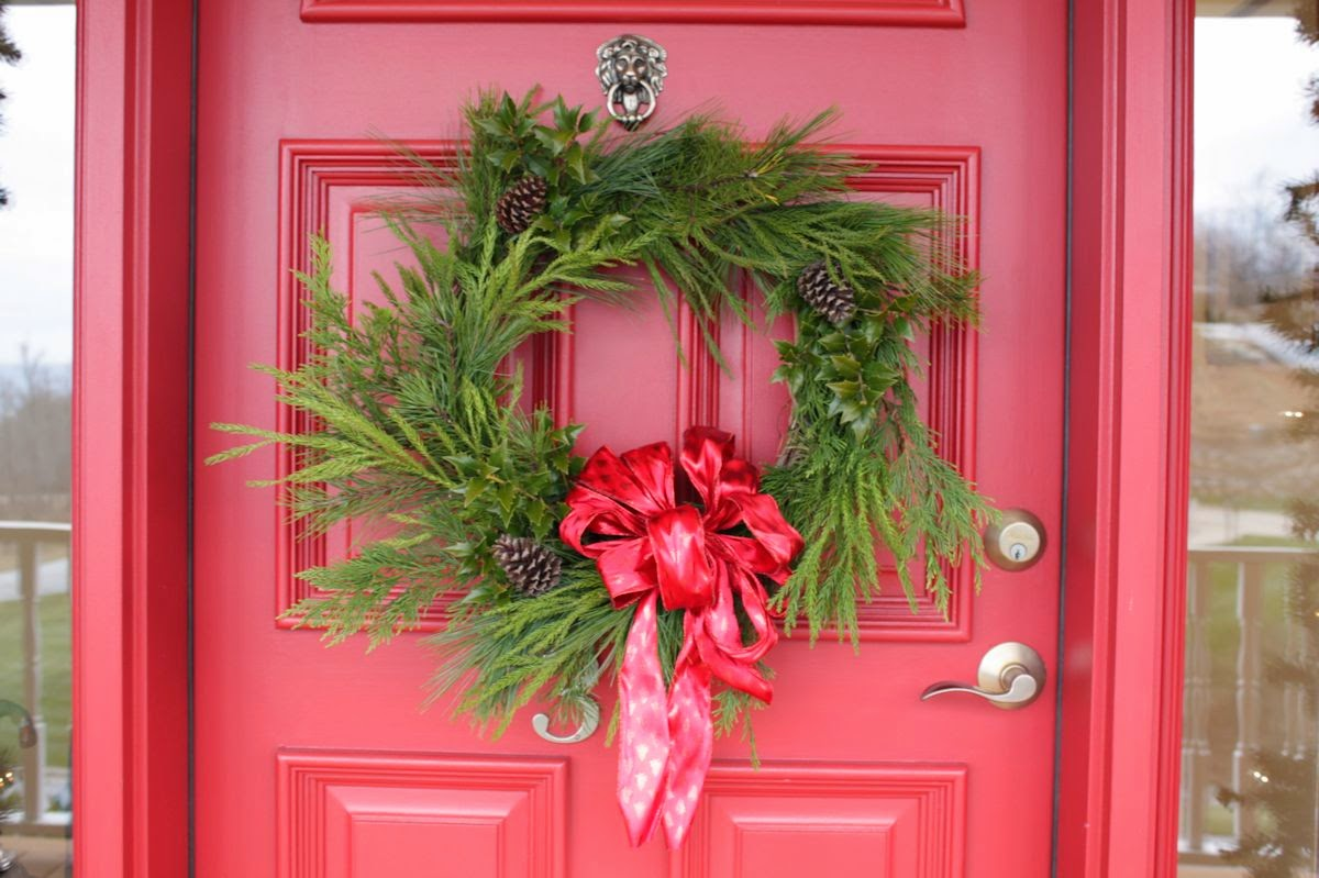 The Comforts Of Home Christmas At The Front Door Plus Diy
