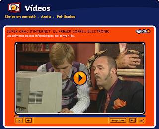 Imatge de la web de Super3
