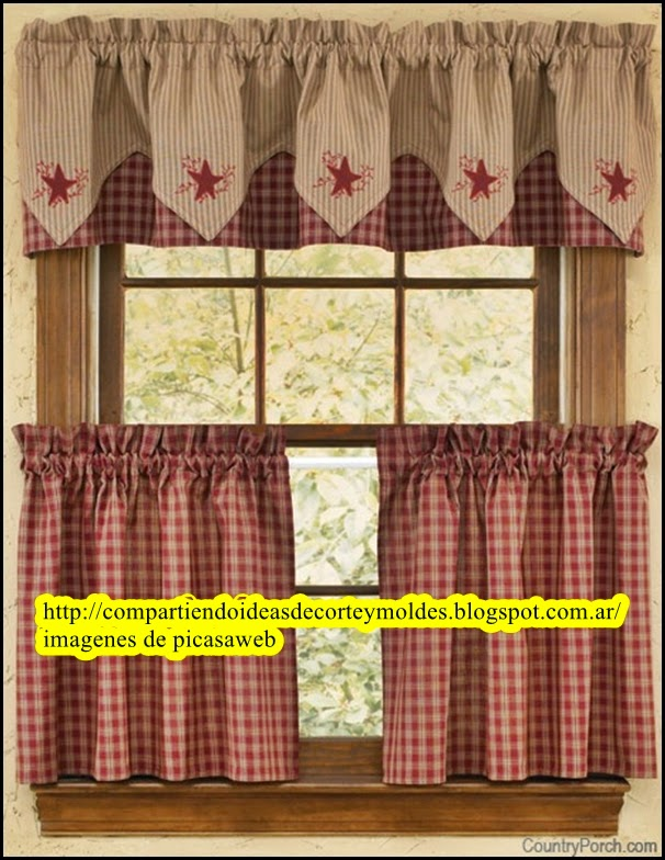 Ver cortinas de cocina cortinas para la cocina originales for Cortinas cocina originales