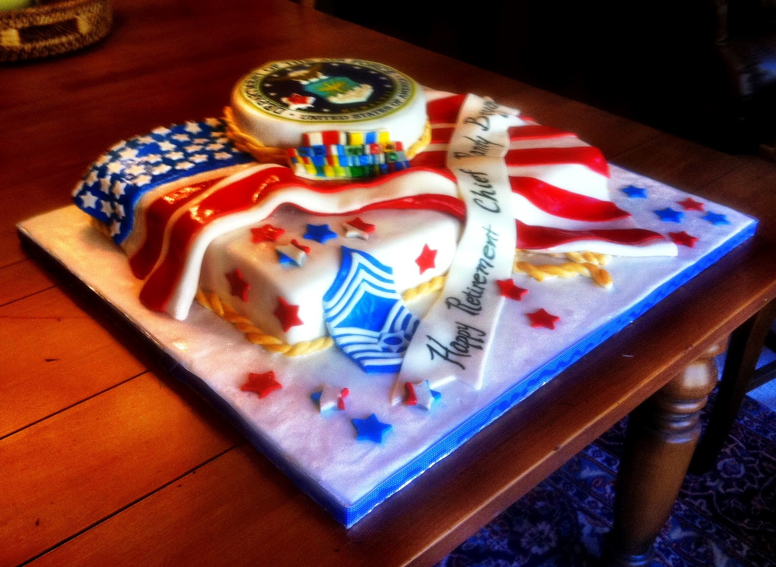 Cake Designs For Military : Military Retirement Cakes Cake Ideas and Designs