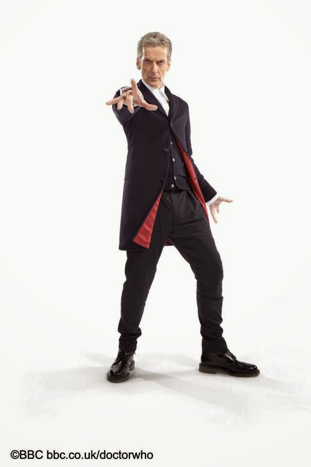 Peter Capaldi as the Twelfth Doctor official costume
