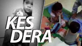 Polis siasat video pengasuh pukul kanak-kanak