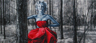 In questa immagine vedete un quadro di marylin Monroe