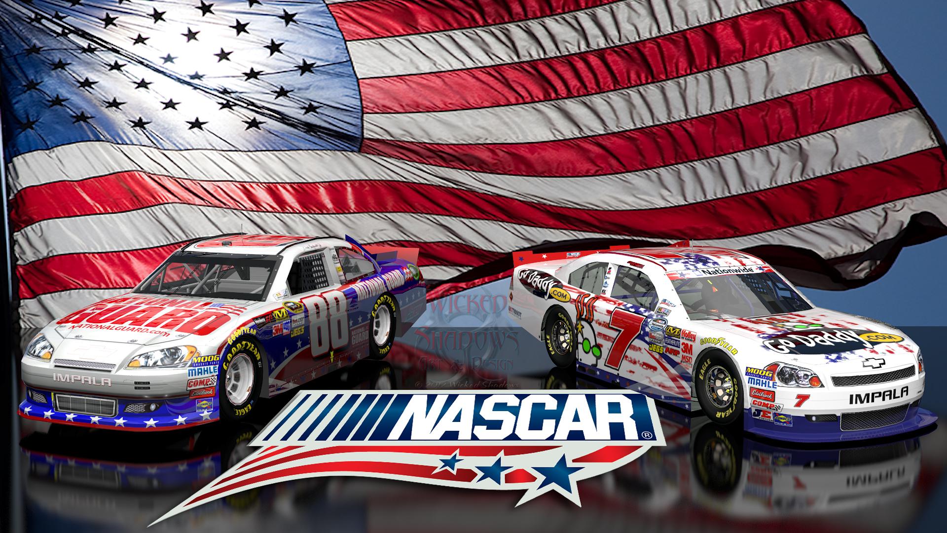 Danica Patrick Dale Earnhardt Jr NASCAR Unites wallpaper 16x9