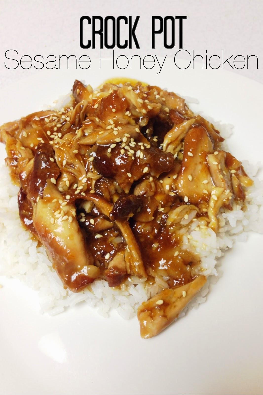 Lou Lou Girls : Sesame Honey Chicken - Crock Pot Style