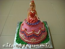MODUL KELAS : BAKE & DECO DOLL CAKE WITH BUTTERCREAM
