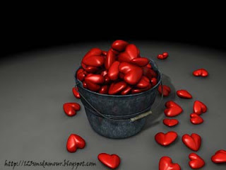 poème sms d'amour