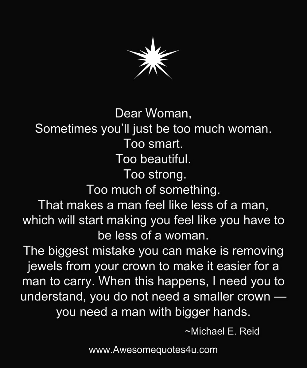 dear women quotes
