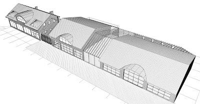 Architekt Rzeszów. Budynek handlowo-usługowy. Sklep, biura, restauracja.