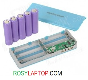Casing PowerBank Baterai 18650 5 slot