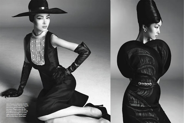 Fei Fei Sun Vogue Italia January 2013 Editorial China Machado inspiration
