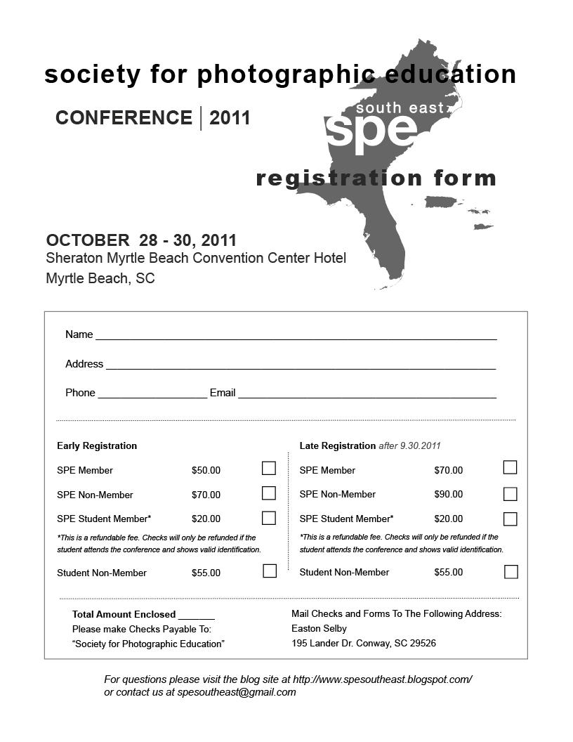 sample registration form template