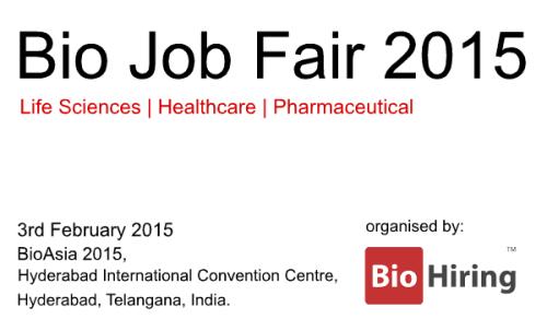 BioAsia 2015 Job Fair www.biohiring.com/jobfair