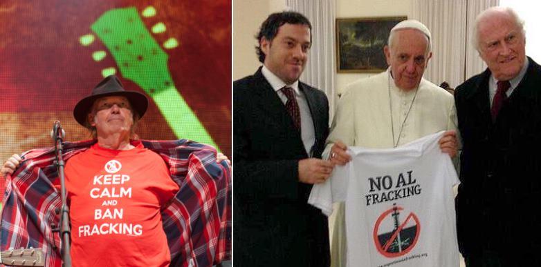 Neil Young und der Papst