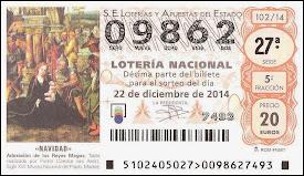 Hay LOTERIA DE NAVIDAD // SUERTE!!!!