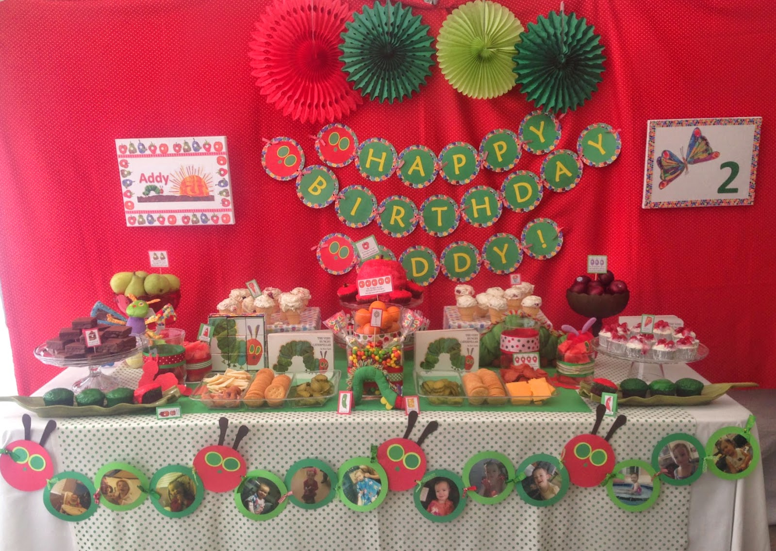 Manic Mama Miles: Our Very Hungry Caterpillar Turns 2!