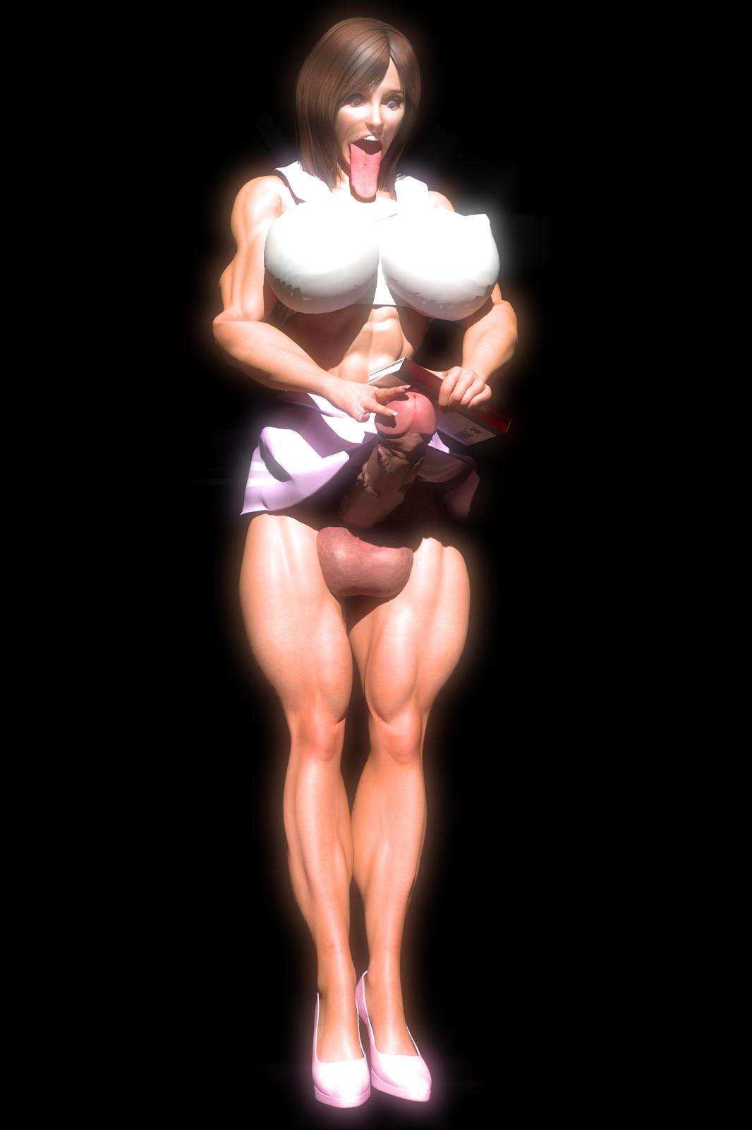 female muscle futa