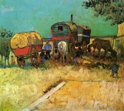 Acampamento de ciganos