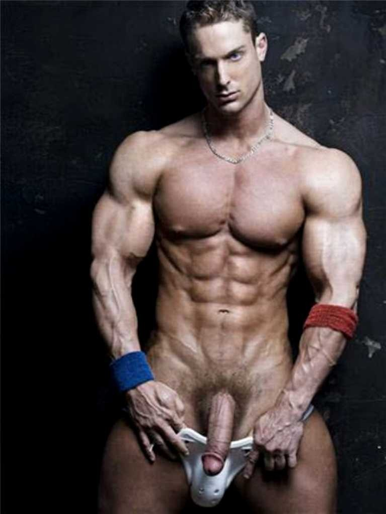 male fitness model nude