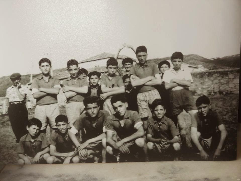 Os amigos do futebol em 1965