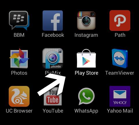 Buka Play Store - Cara Menghapus Aplikasi Path - Android
