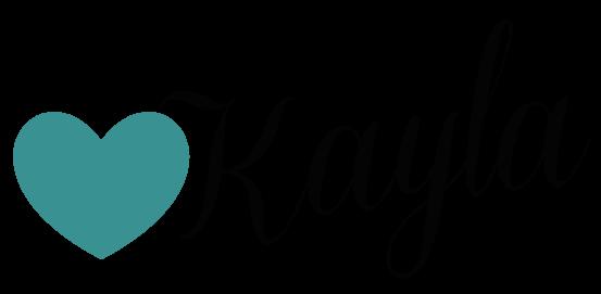 Bubble Letters Kayla Cake Ideas