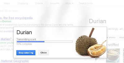 Transmitting the Durian Scent