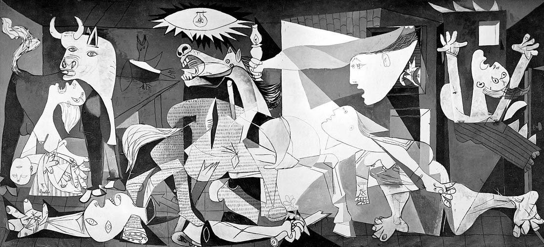 Pablo Picasso: Guernica.