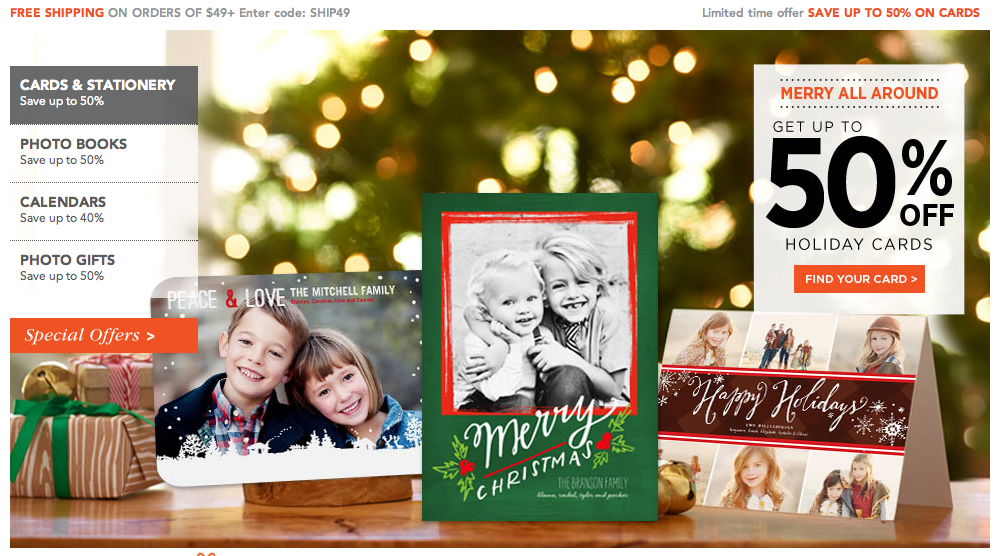 Hardly Housewives: The Last Minute Christmas Card Hunt (Thanks ...