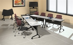 Training Room Furniture Configuration