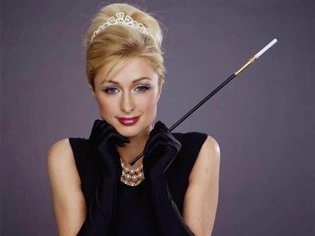 Paris Hilton - inspiração Bonequinha de Luxo