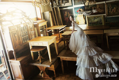 Choi Yoon Young - My Wedding Magazine April Issue 2013