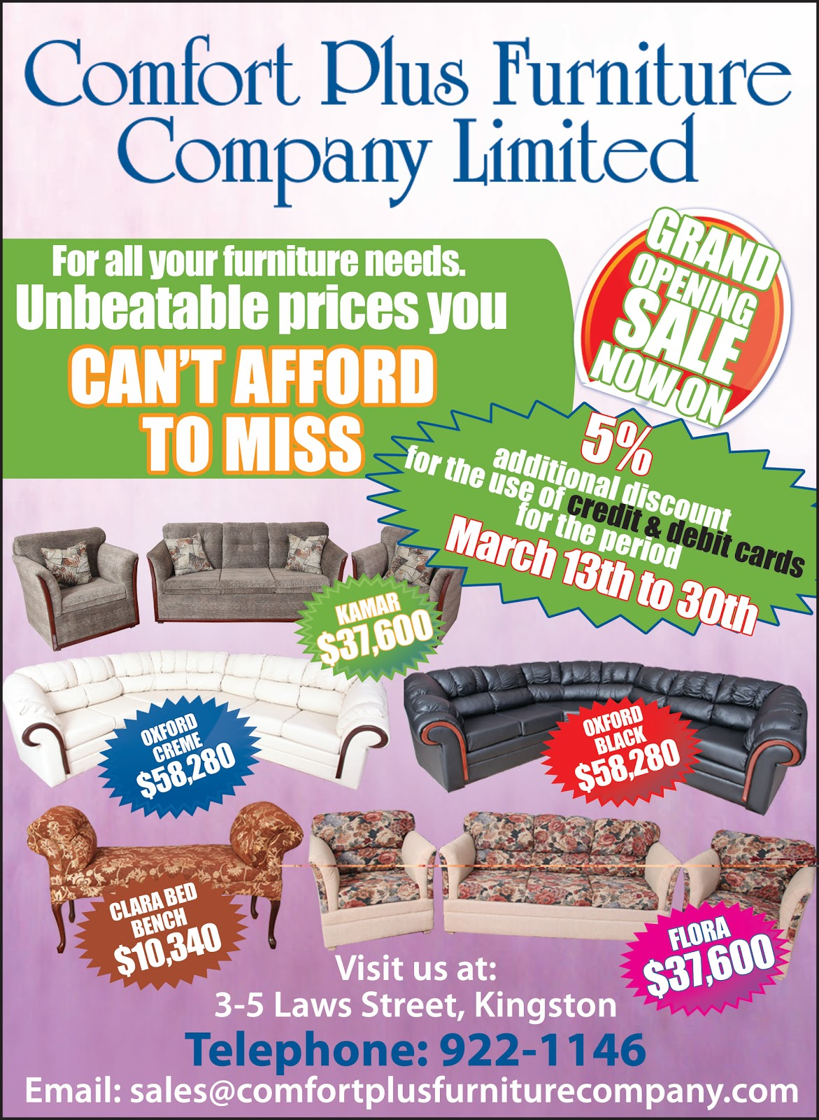 Superb Profile:Comfort Plus Furniture Company