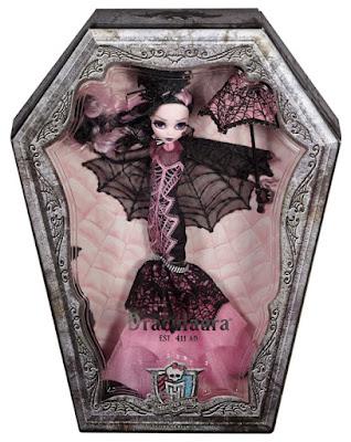 TOYS : JUGUETES - MONSTER HIGH  Draculaura Collector | Doll - Muñeca de Colección  Producto Oficial 2015 | Mattel CHW66 | A partir de 15 años  Comprar en Amazon