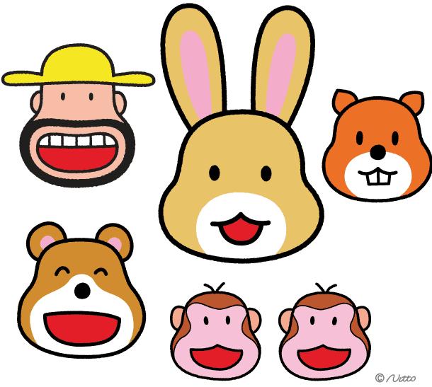 Mascottes Meiji Vitto