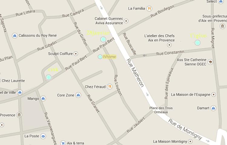 Blog City Guide - bonnes adresses deco - Aix en Provence