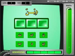 Belajar Merangkai Huruf Hijaiyah dengan menggunakan media Game