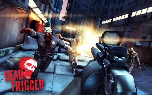 Dead Trigger para Android-OS e iPhone, juego de acción al diseño Walking Dead