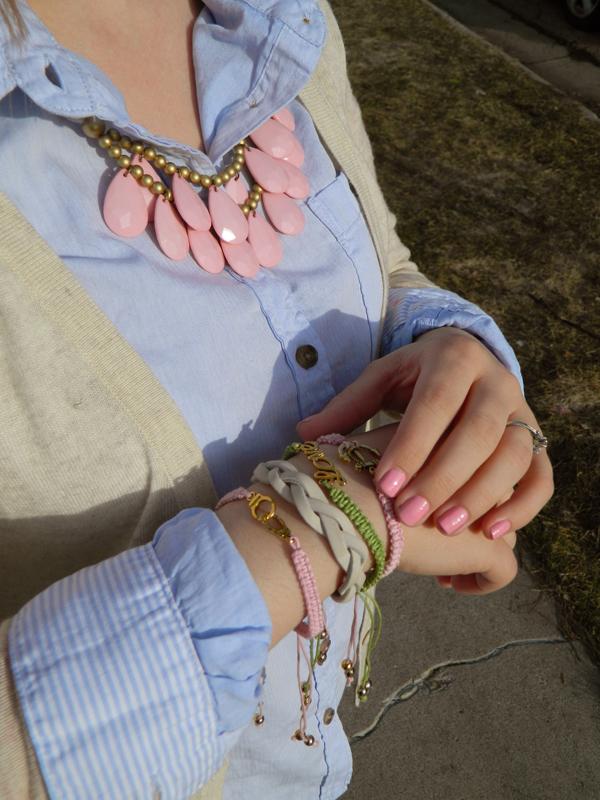 Anchor bracelet Love bracelet handcuff bracelet arm candy braided bracelet leather braid bracelet